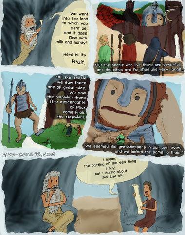 Literal Bible Stories: Numbers 13